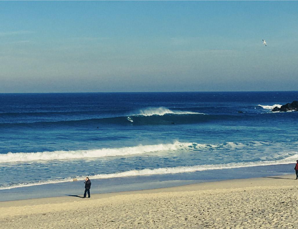 Surf on Porthmeor Beach St Ives